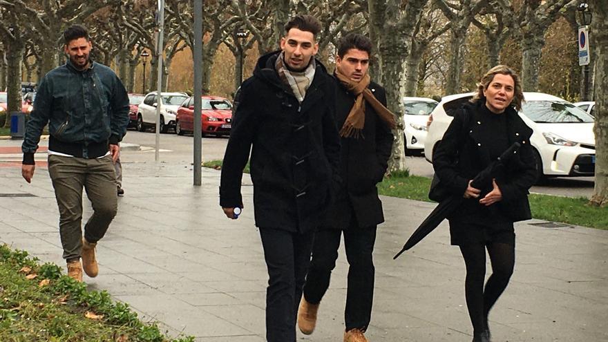 La Audiencia Provincial de Burgos decide hoy si los tres exjugadores de la Arandina ingresan en prisión