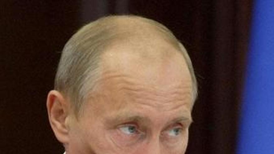 El primer ministro ruso, Vladimir Putin