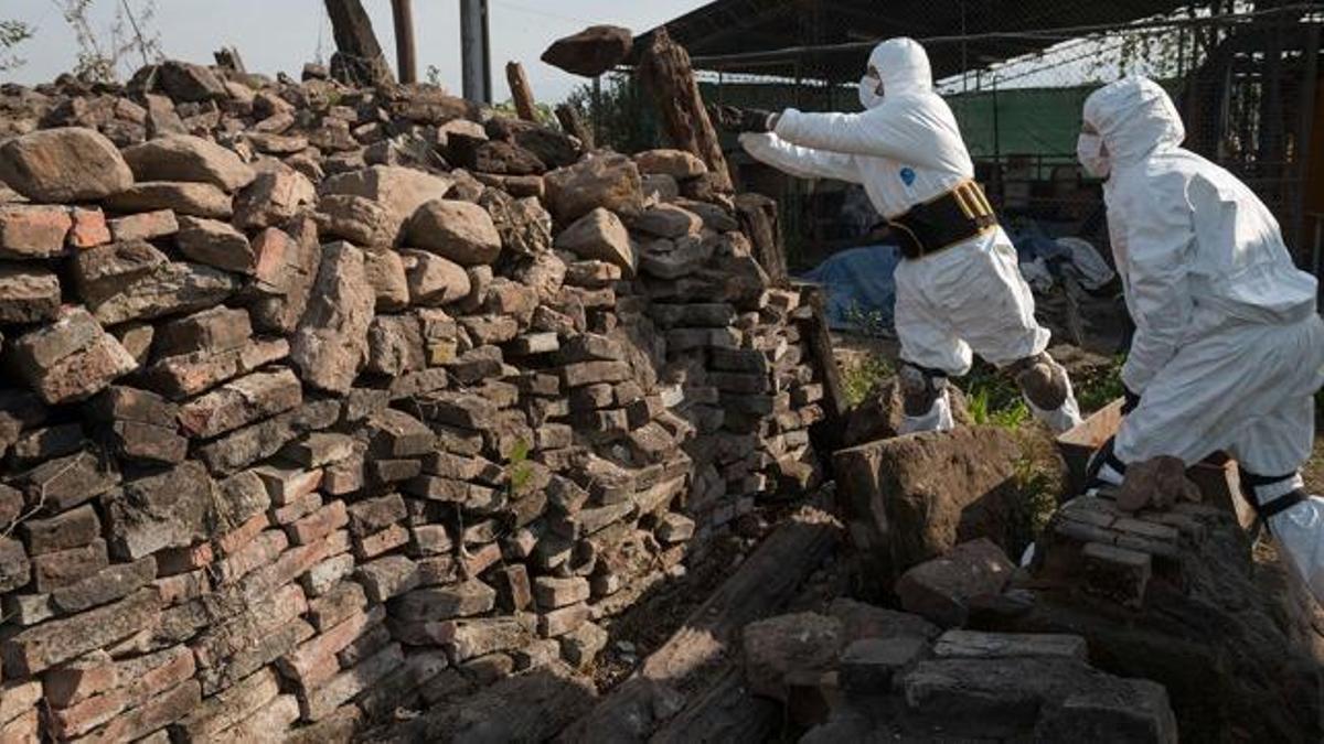El primer hallazgo en el Pozo de Vargas fue en 2004. Aún faltan identificar 35 cuerpos
