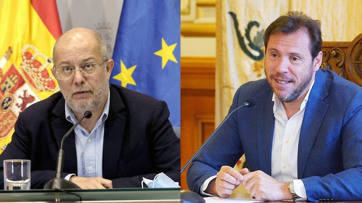 Oscar Puente y Francisco Igea.