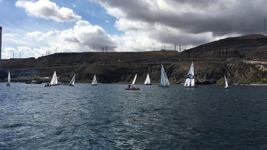 I Encuentro de Verla Latina Canaria en la bahía de Las Palmas de Gran Canaria.