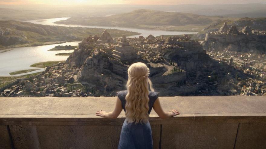 Khaleesi pudo contemplar el horizonte gracias a Arnold, un 'software' de procedencia española.