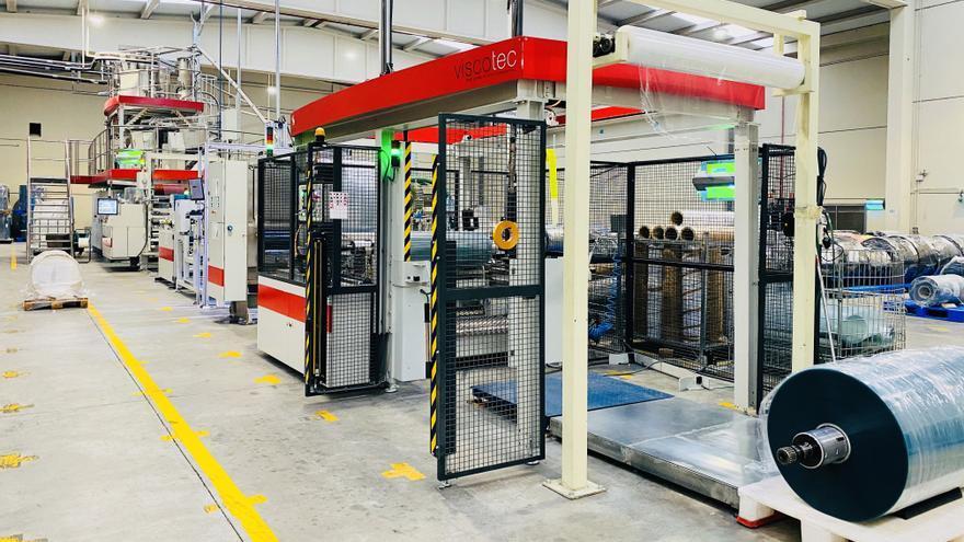 Maquinaria de la fábrica Formaspack.