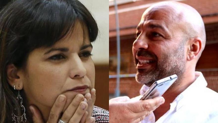 Teresa Rodríguez y José García Merino, enfrentados por el acercamiento de Podemos al PSOE