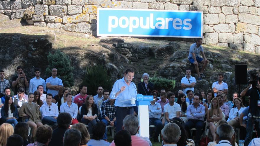 Rajoy estará este sábado en Ourense en un acto electoral con Baltar y el cabeza de lista por la provincia