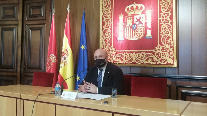 El delegado del Gobierno en Navarra, José Luis Arasti