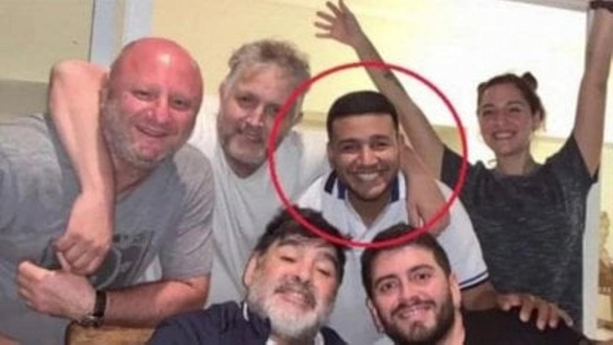 """""""Charly"""", considerado clave en la causa Maradona."""