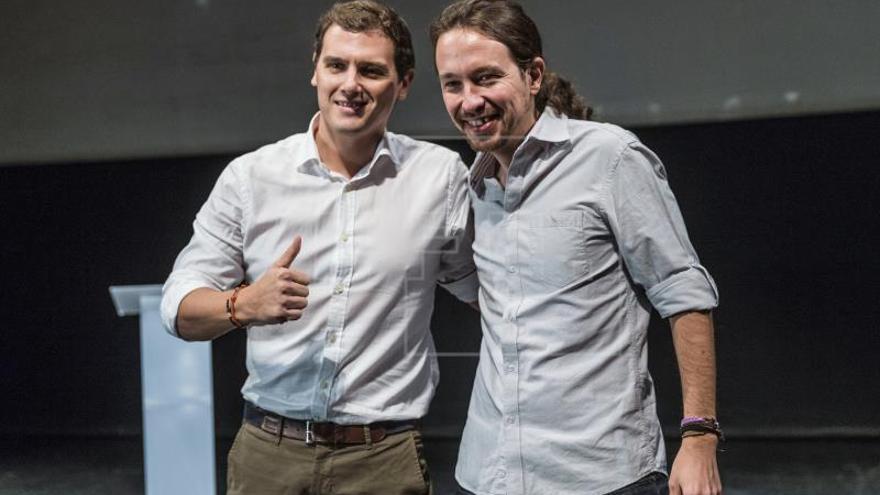 Iglesias y Rivera acuerdan reuniones para impulsar la reforma electoral