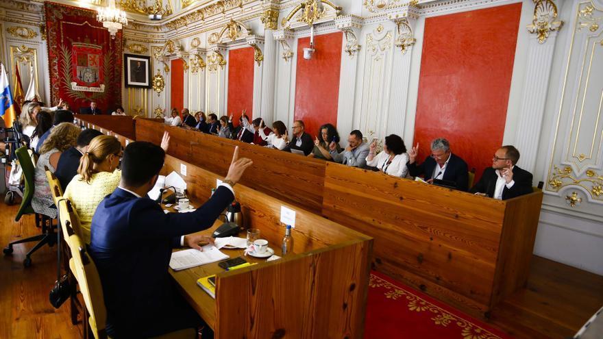 Pleno de Las Palmas de Gran Canaria