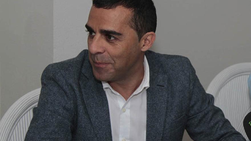 El alcalde, José Montelongo, en rueda de prensa la semana pasada.