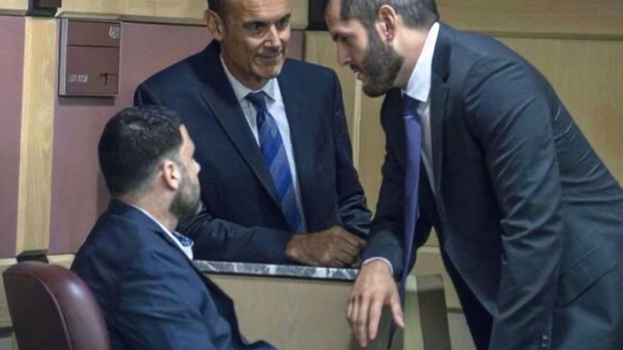 Pablo Ibar y su abogado Joe Nascimento