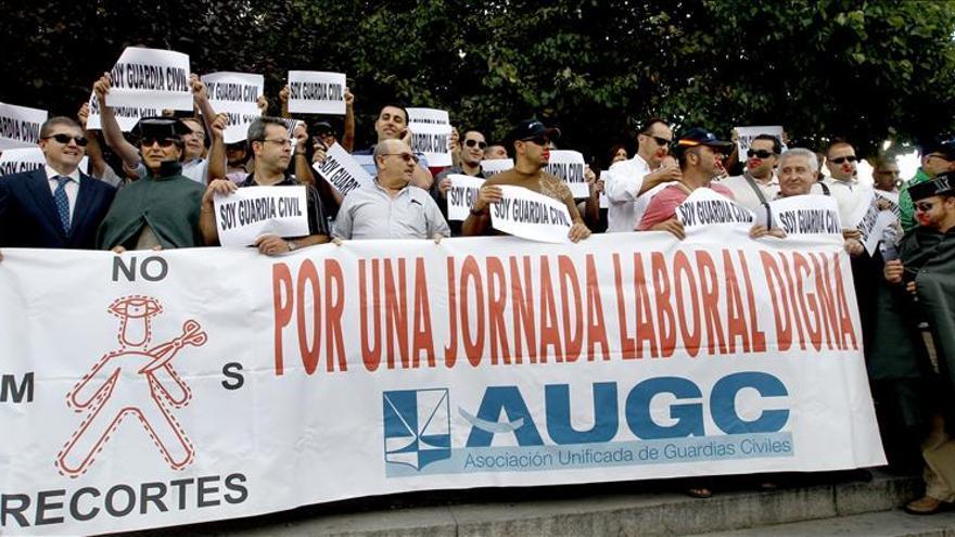 El TSJ de Madrid permite a los guardias civiles manifestarse el 14 de noviembre