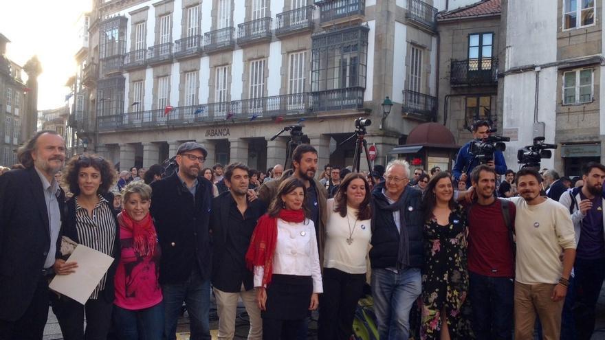 """En Marea apela en el cierre de campaña a conseguir ocho diputados y disputarle """"la lista más votada"""" al PP"""
