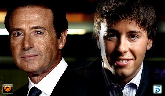 Matías Prats padre en Antena 3 y Matías Prats hijo en Telecinco