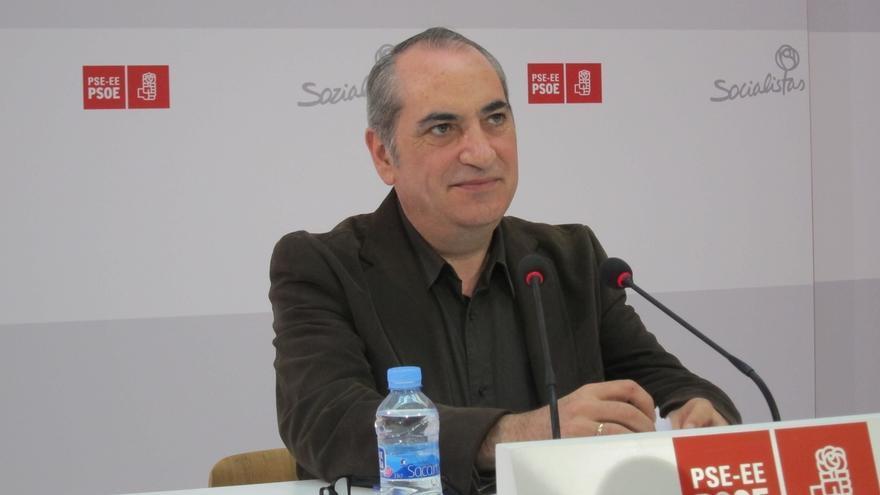 Arriola (PSE), a favor de que haya acuerdos de estabilidad global que se plasmen en diputaciones y ayuntamientos