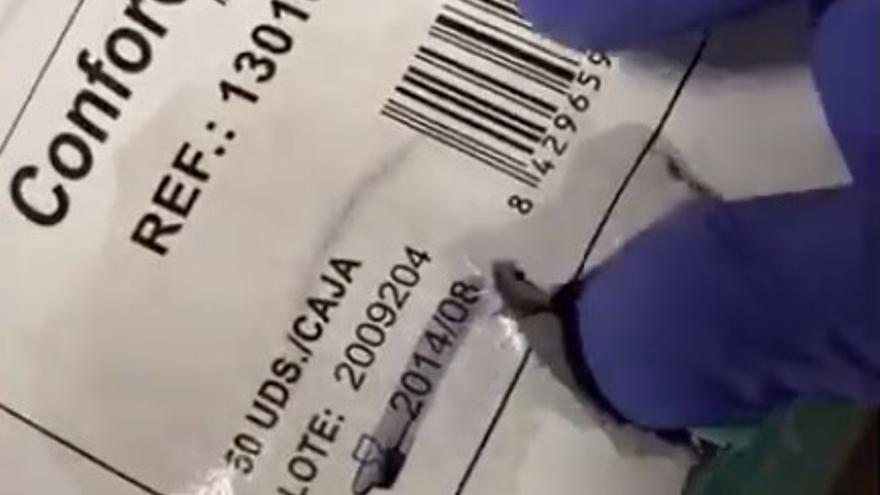 Mascarillas caducadas hace seis años en el área de Málaga dirigida por el exgerente del Servicio Andaluz de Salud