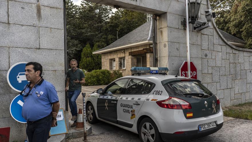 La Guardia Civil entra en El Valle de los Caídos