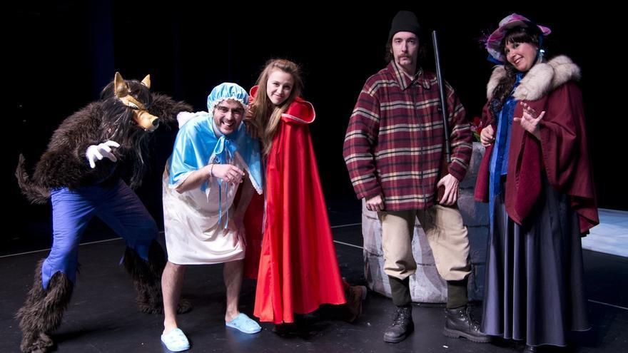 Más de 150 niños vizcaínos participan este sábado en el espectáculo 'Caperucita Roja, tu primera ópera' en Teatro Campos