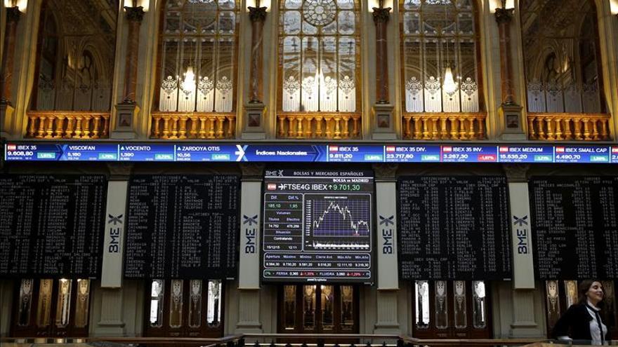 La bolsa española abre con un fuerte repunte y el IBEX sube un 1,98 %