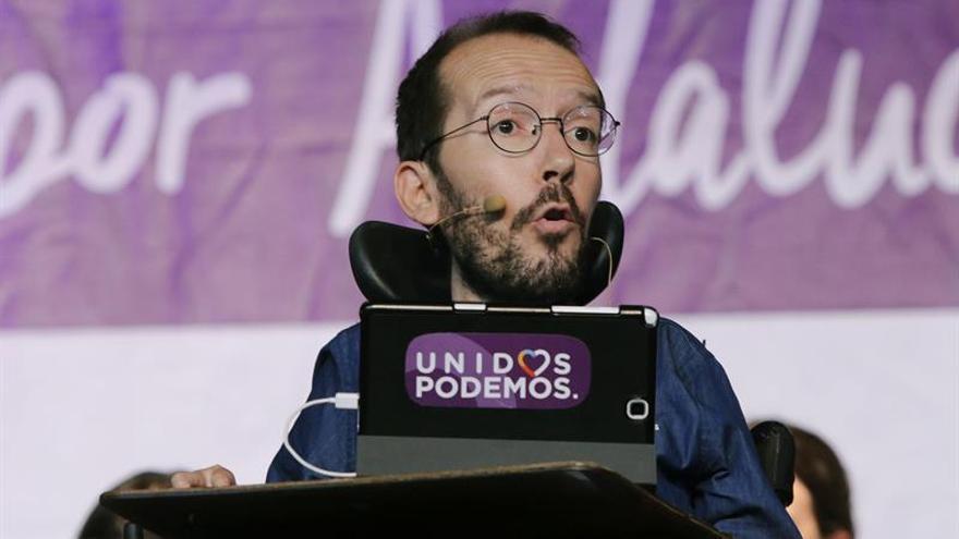 """Echenique pide a Sánchez no escuchar a Vara e Ibarra, que """"abren las puertas del PP"""""""