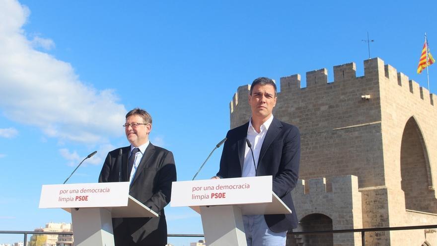 """Sánchez pide que comparezca Rajoy por la corrupción y dice que el PP debe pasar a la oposición para """"regenerarse"""""""