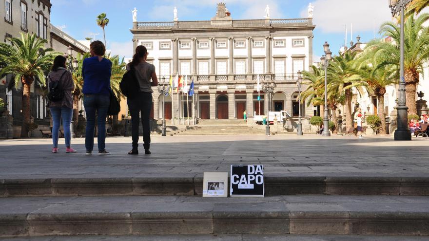 'Bookcrossing' realizado en Vegueta