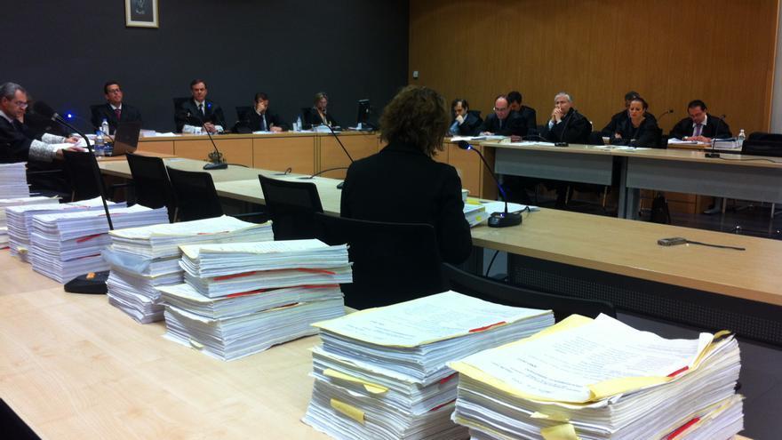 Sesión del juicio por el caso Grupo Europa celebrada este viernes.