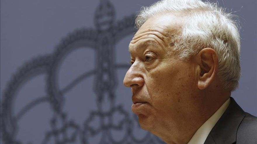 Margallo dice que Venezuela deberá valorar el efecto si niega la entrada a González