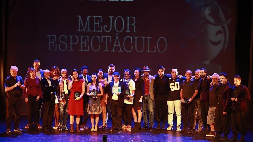 Foto de familia de los premios Réplica de 2017