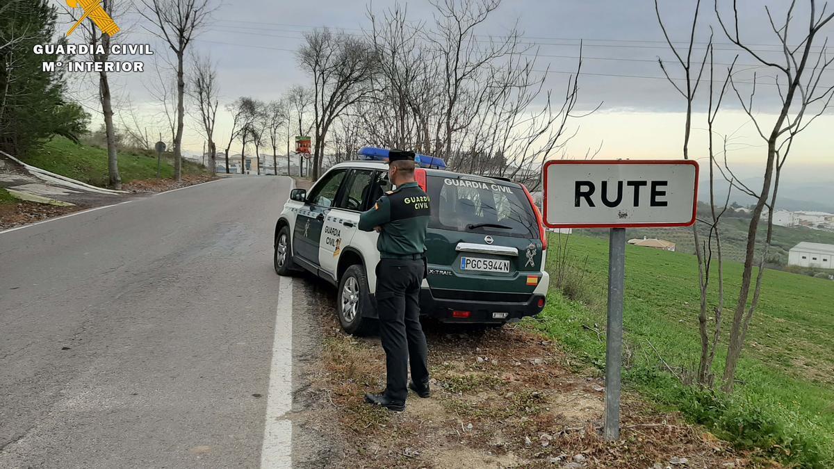 Guardia Civil de Rute.