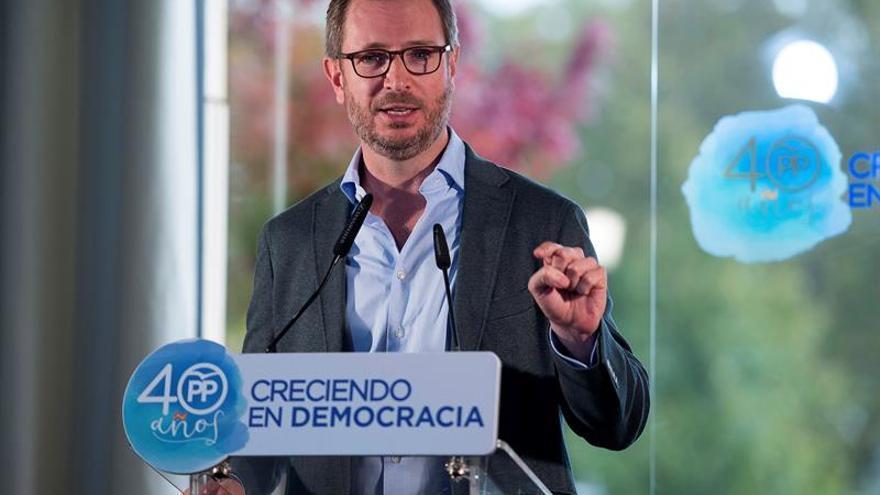 """Maroto subraya que el PP tiene """"plena voluntad"""" de pactar con PSC y Cs tras el 21D"""