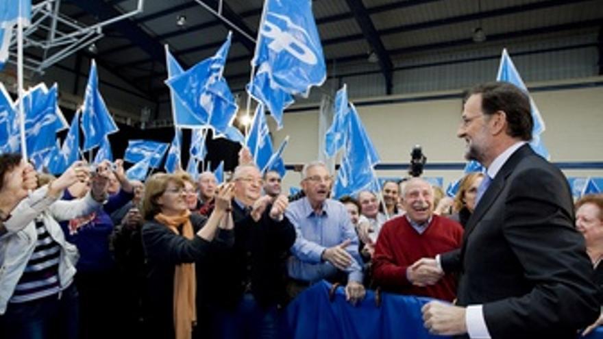 Mariano Rajoy, En León