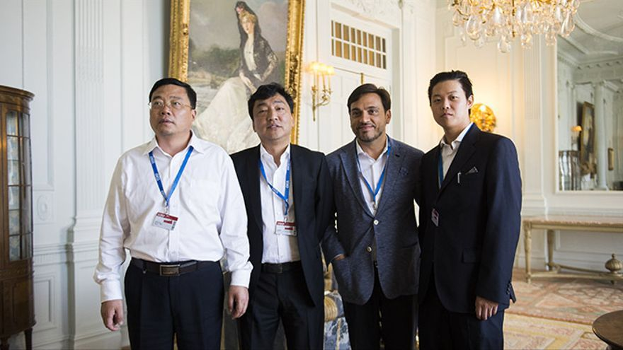 La UIMP debate esta semana sobre las relaciones entre China y Amercia Latina.  | Juan Manuel Serrano