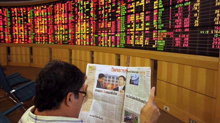 Subidas del Dow Jones y el Nikkei animan las bolsas del Sudeste Asiático