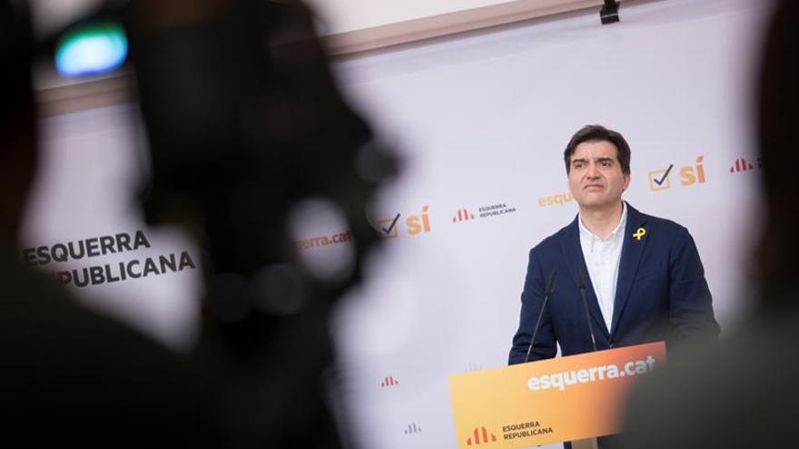 El portavoz de ERC, Sergi Sabrià, se ha mostrado optimista sobre el acuerdo con JxCat