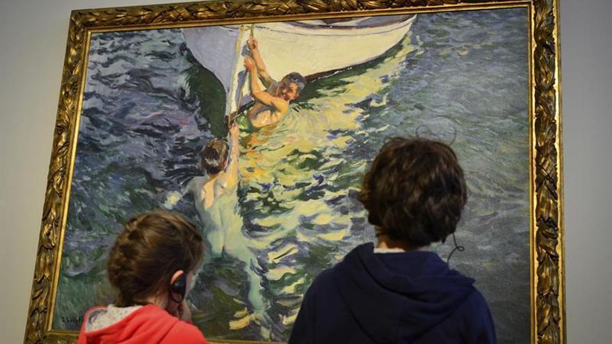 El pueblo que inspiró a Monet acoge una exposición de Sorolla