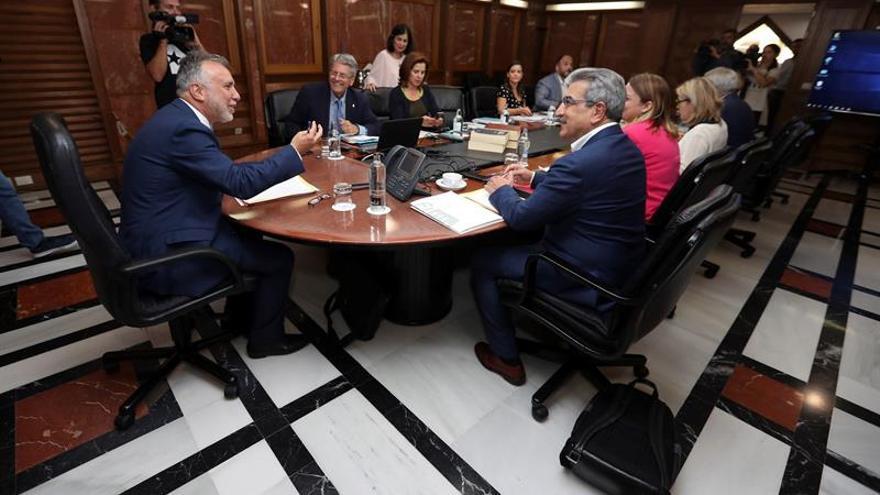 Reunión del Consejo de Gobierno celebrado en Las Palmas de Gran Canaria