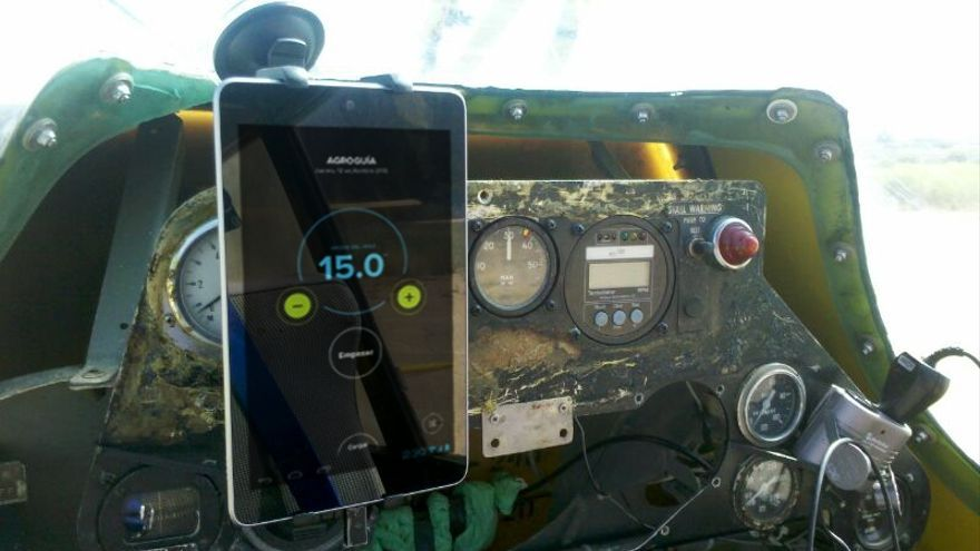 Existe una versión de la aplicación adaptada para avionetas