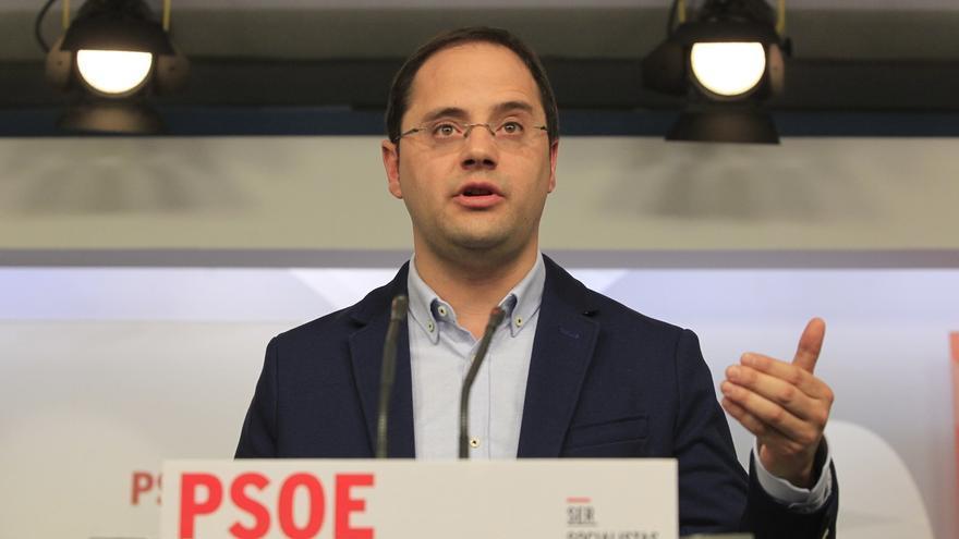 César Luena interviene este sábado en Bezana (Cantabria) en una asamblea abierta del PSOE