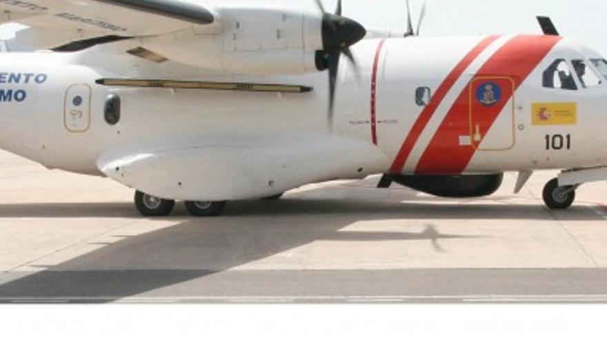 El avión Sasemar 101. Foto: Salvamento Marítimo