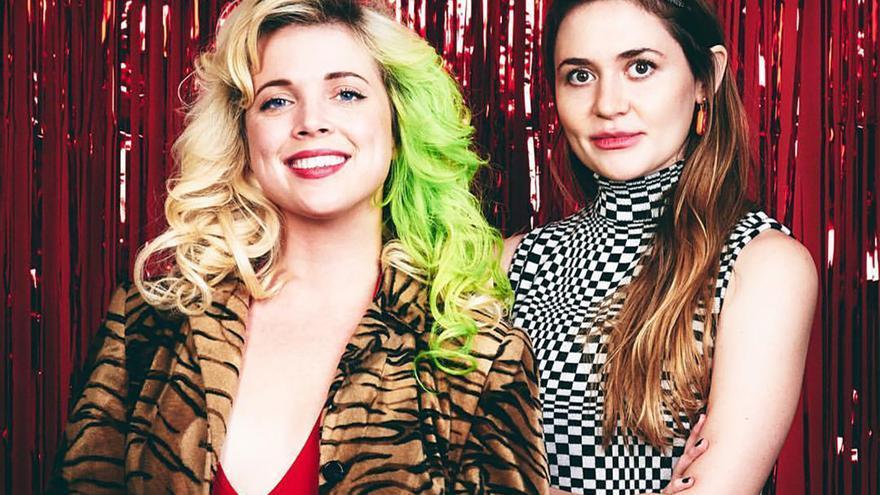 Kate Dwyer y Penelope Gazin, cofundadoras de Witchsy.