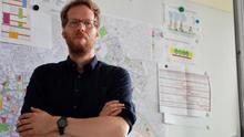 Florian Schmidt, el político ecologista que quiere pinchar la burbuja inmobiliaria en Berlín inspirado en la PAH