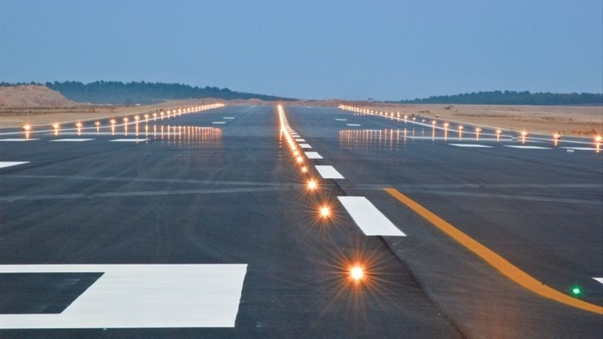 Las pistas del aeródromo castellonense