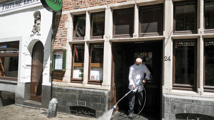 Bélgica vuelve a suavizar las medidas frente al coronavirus