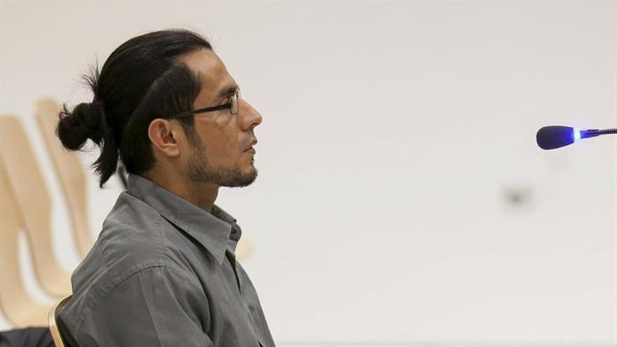 El acusado Yuri Virgilio C.E. EFE/Ángel Medina G.
