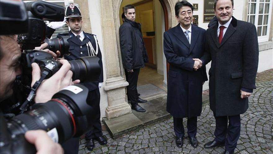 Bettel y Abe se comprometen a cooperar estrechamente en la lucha antiterrorista