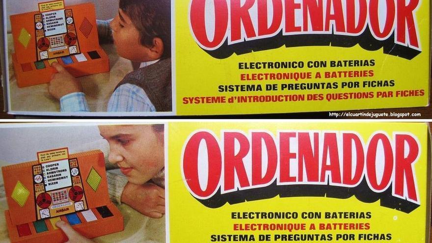 """El """"ordenador electrónico con baterías"""" de Airgam"""
