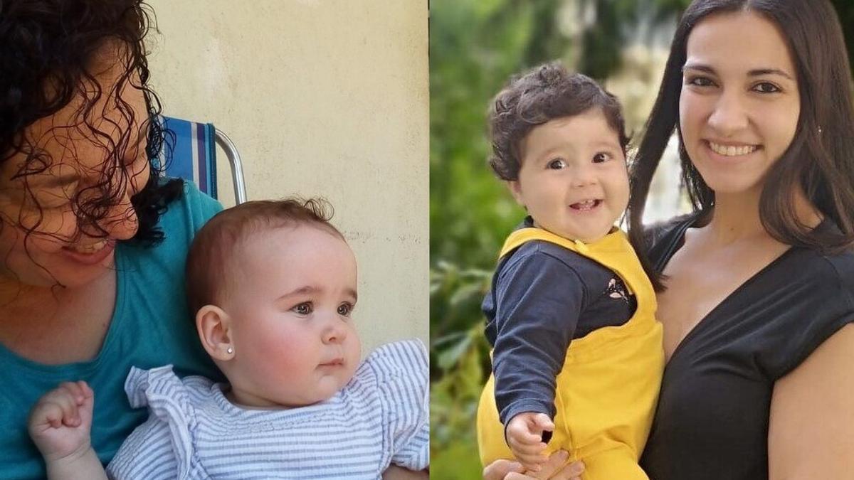 Beatriz Fernández y Adriana Martínez han conseguido que la Justicia les reconozca el derecho a disfrutar del permiso del segundo progenitor tras tener solas a sus hijas.