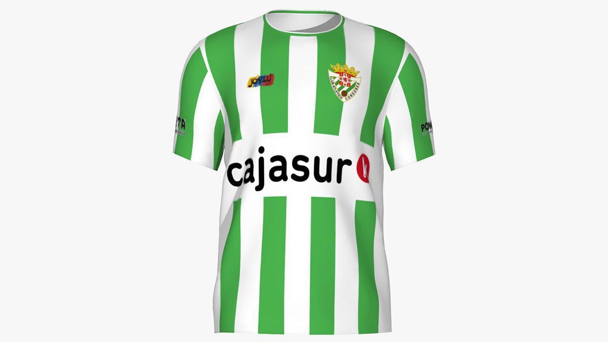 Equipación del Atlético Cordobés para la 2021-22.