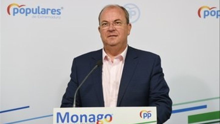 """Monago (PP) denuncia que existe la """"orden"""" de """"ocultar el número real"""" de fallecidos por coronavirus en Extremadura"""